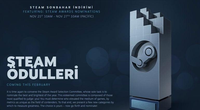 Steam Awards nominations