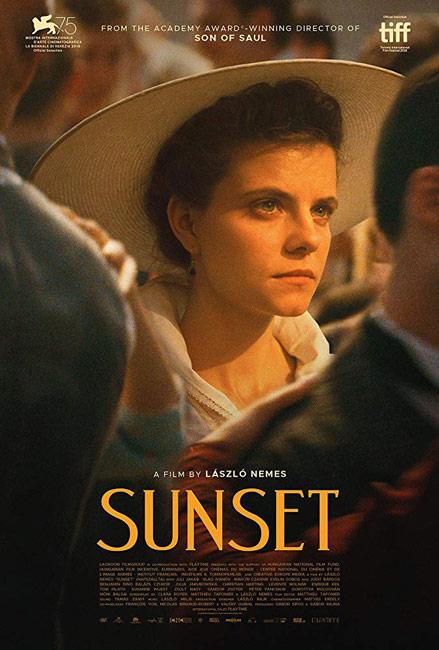 sunset (napszallta) laszlo nemes film poster synopsis trailer and more