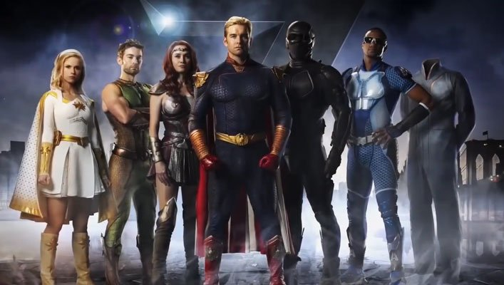 First Trailer for Seth Rogen's The Boys TV-Series About Superheroes