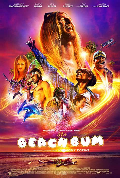 the beach bum 2019 trailer, cast, synopsis, poster
