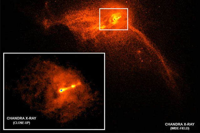 black hole real image nasa telescope 2019