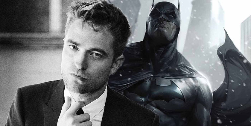 Robert Pattinson is the new Batman
