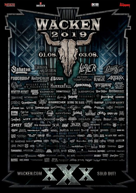 Wacken Open Air 2019 - 30th Years Anniversary