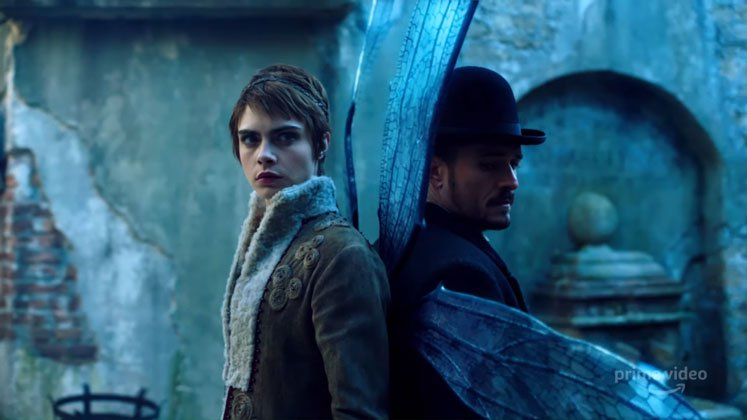 Carnival Row trailer with starring Cara Delevingne and Orlando Bloom