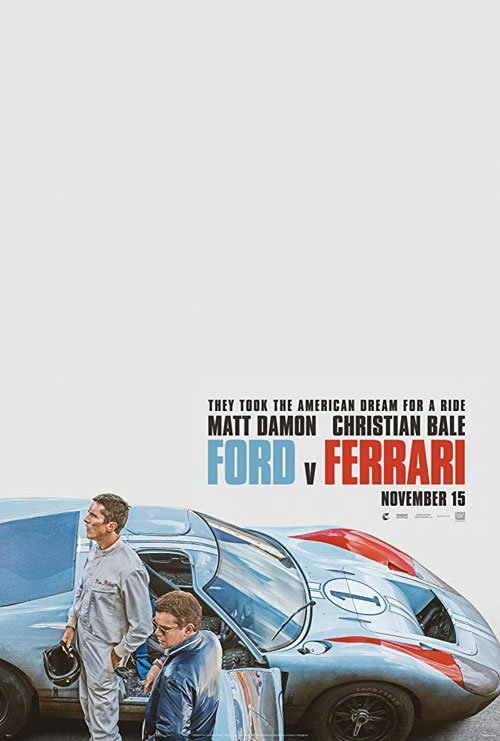 Ford v Ferrari synopsis, cast, release date, poster