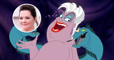 Melissa McCarthy to play Ursula in the live-action Little Mermaid