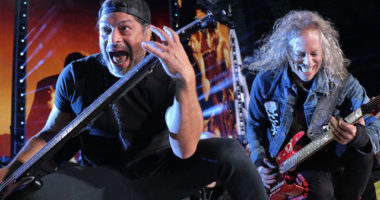 Metallica members cover Rammstein song in Berlin, Germany