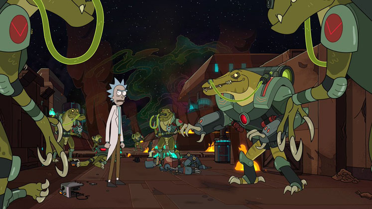 rick and morty season 4 first images and release date adult swim
