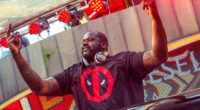 Shaquille O'Neal appearing mosh pit at EDM festival Tomorrowland