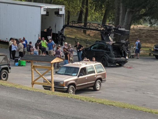 Stranger Things season 4 reveals set photo