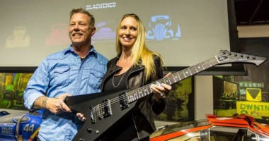 Metallica's James Hetfield returns public after rehabilitation