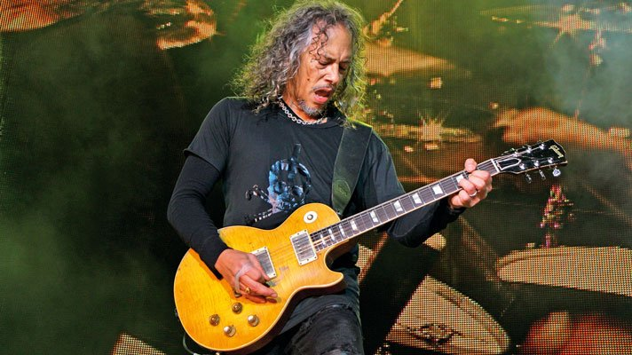 Metallica's Kirk Hammett reacts to $2M value of the guitar