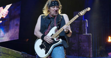Adrian Smith explains why he switched playing in Iron Maiden