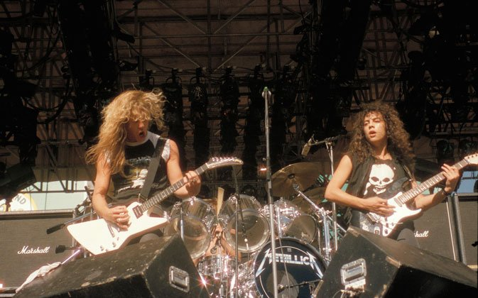 """Metallica and Slayer members talks in """"Murder in the Front Row"""""""