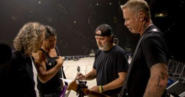 Metallica cancel some summer tour dates for James Hetfield