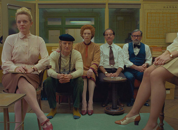 The French Dispatch trailer release from Wes Anderson film