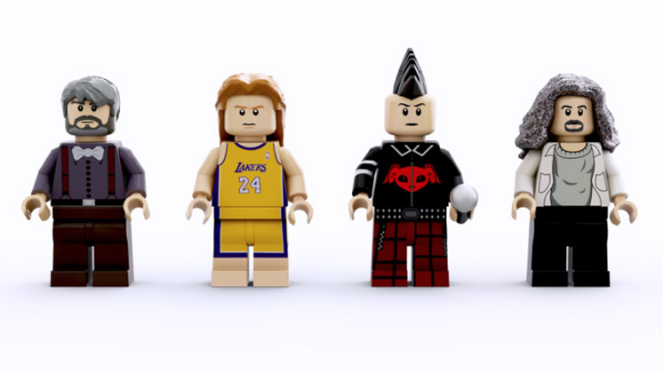 tool lego band