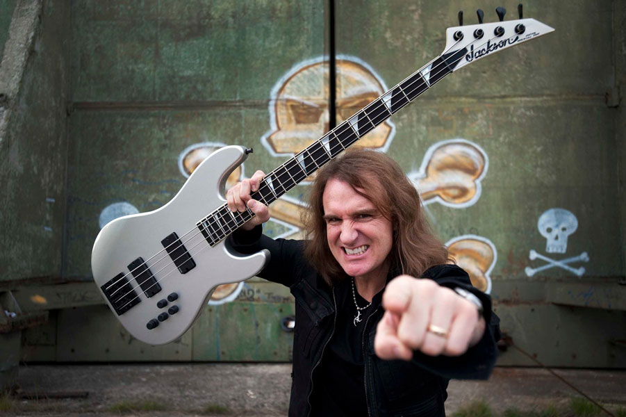 "Megadeth's David Ellefson announces new single ""Simple Truth"""