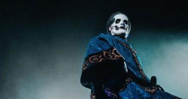 Ghost reveals the Papa Emeritus IV at last concert of Prequelle album