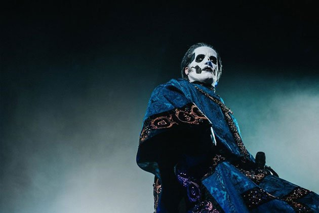 Ghost reveals the Papa Emeritus IV at last concert of Prequelle album