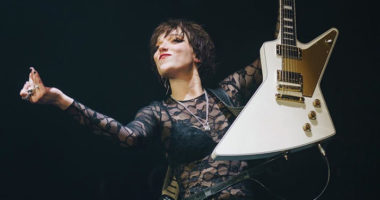 Halestorm frontwoman Lzzy Hale: Guitar tutorial interview