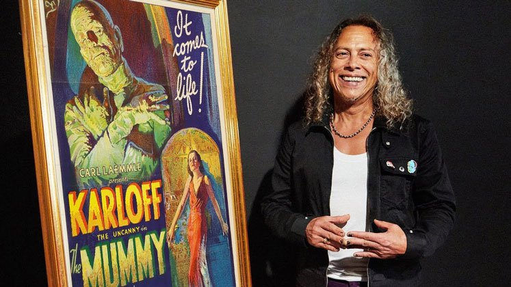 Metallica member Kirk Hammett reveals It's Alive! horror exhibit