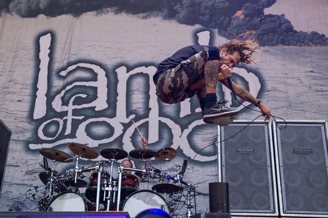 "Lamb of God frontman talks about Slayer: ""We never will take their place"""