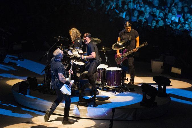 Metallica to stream live concert series every monday