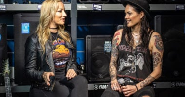"Nita Strauss: Her upcoming solo album is ""It's very well on the way"""