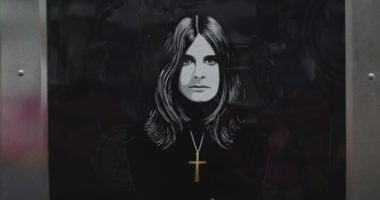 Ozzy Osbourne premiere his latest music video 'Ordinary Man'