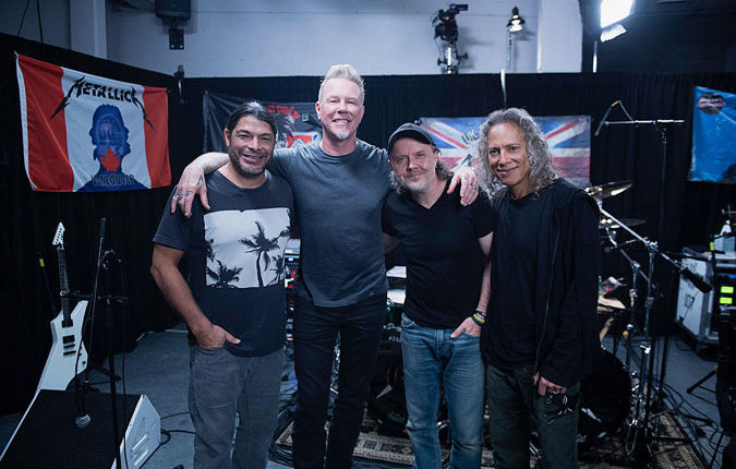 Metallica donates $350K with their foundation for COVID-19 relief
