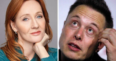 Elon Musk explains Bitcoin to JK Rowling on Twitter