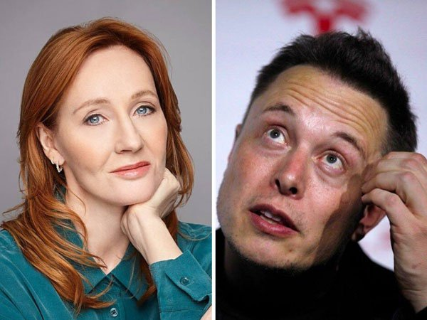 Elon Musk explains Bitcoin to JK Rowling on Twitter and people help them