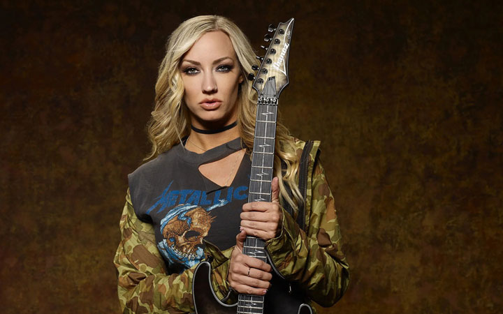 Nita Strauss talks about her second solo album finished