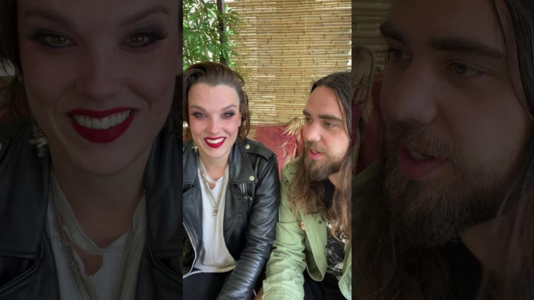 Halestorm band share #Roadiestrong support campaign [Video]