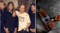Metallica introduces new part of Blackened whiskey [Video]