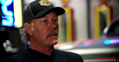 Metallica frontman James Hetfield interview for his classic cars
