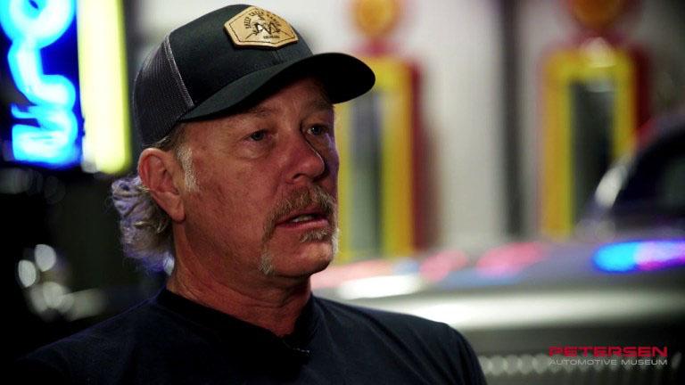 Metallica frontman James Hetfield interview for his classic cars