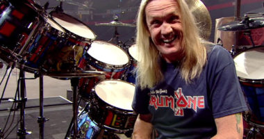 "Iron Maiden drummer Nicko McBrain on influences: ""I was playing pop music"""