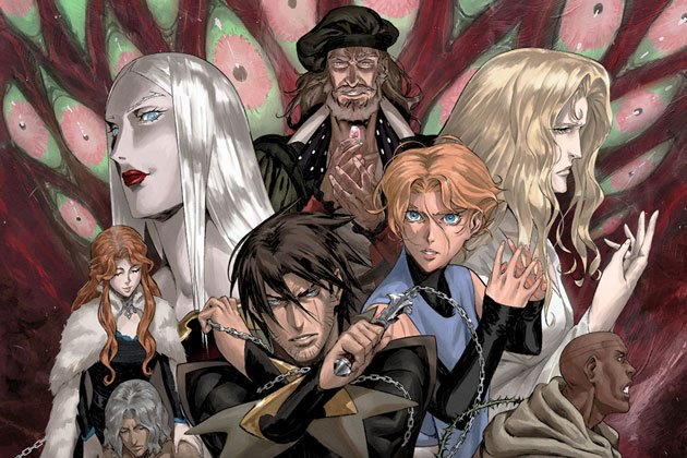Should Netflix adapt Konami series to emulate the success of Castlevania?