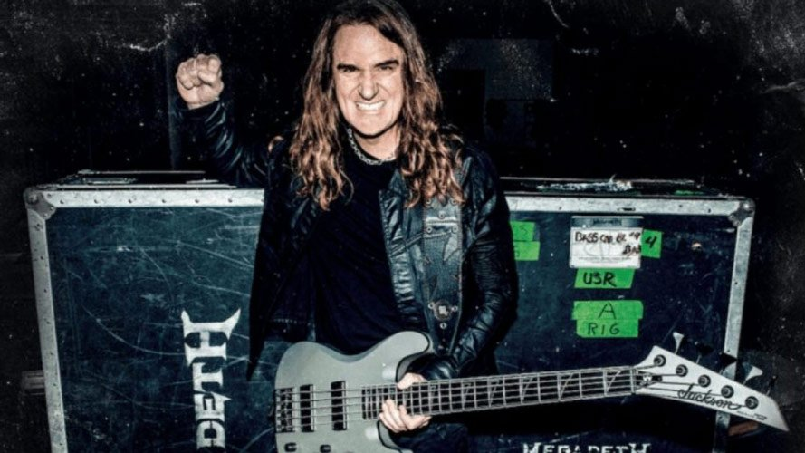 "Megadeth vocalist Dave Mustaine called David Ellefson as a ""Junior"""