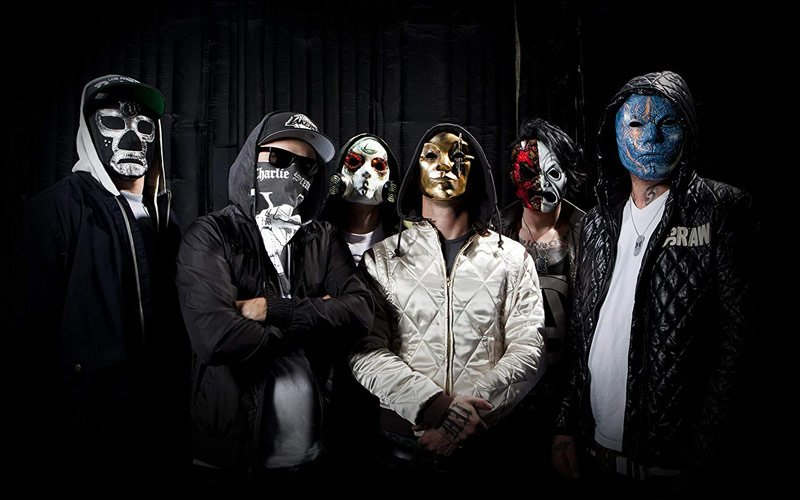 """Hollywood Undead shares new track """"Idol"""" featuring rapper Tech N9ne"""