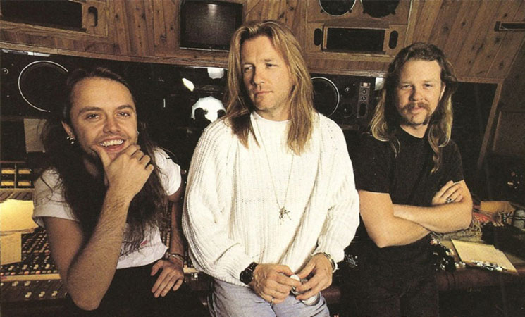 Metallica old producer Bob Rock recalls St. Anger drum snare sound