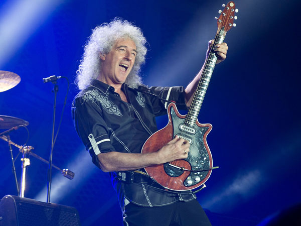 """Brian May: """"I will never claim to be a great guitarist, you know, a virtuoso"""""""