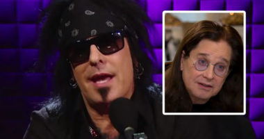 "Ozzy Osbourne ""isn't doing good health,"" says Nikki Sixx"