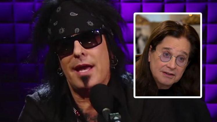 "Ozzy Osbourne ""isn't doing good health,"" says Nikki Sixx"