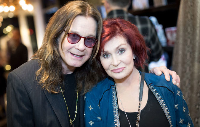 "Ozzy Osbourne wife Sharon: ""He's walking and he's doing great"""