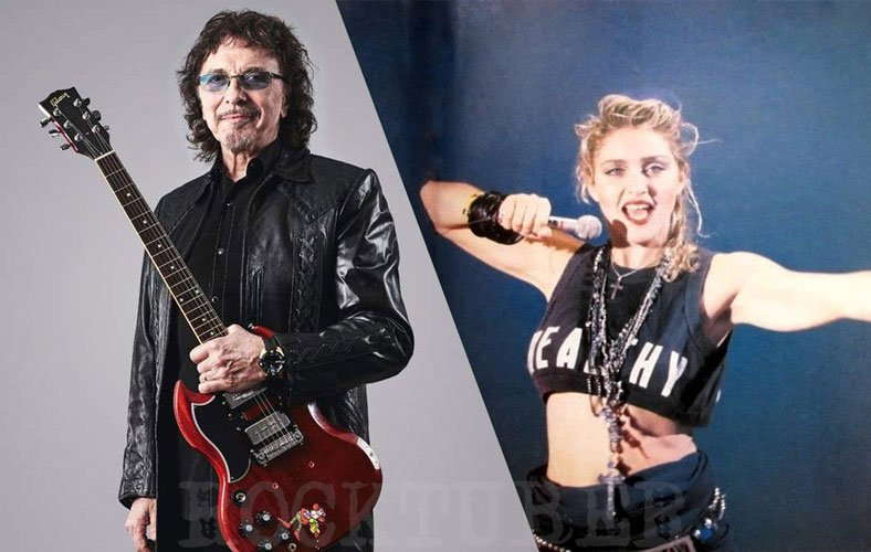 Tony Iommi Sent Out Madonna of Black Sabbath Live Aid Reunion Show