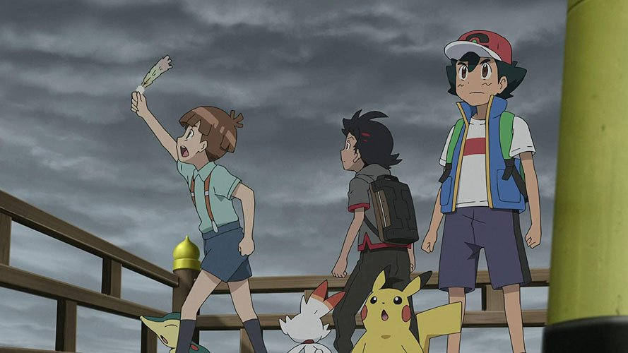 When is the 'Pokémon Journeys: The Series' part 2 release date for Netflix?