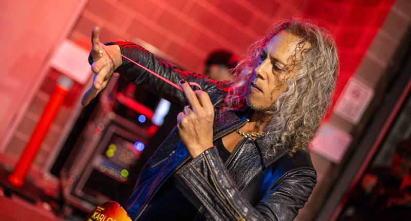 "Kirk Hammett Reveals: ""Exchanging ideas for the new METALLICA album"""